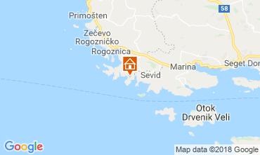 Mappa Rogoznica Casa 117487