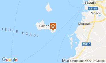 Mappa Favignana Appartamento 115691