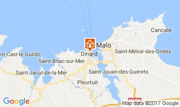 Mappa Dinard Appartamento 108705