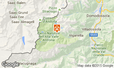 Mappa Domodossola Villa  17016