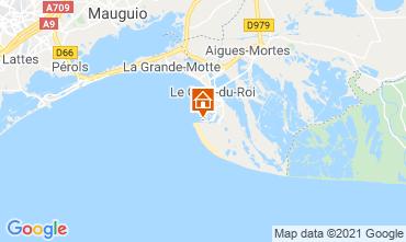 Mappa Le Grau du Roi Appartamento 104513