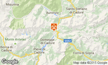 Mappa Auronzo di Cadore Appartamento 59917