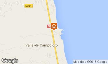 Mappa Moriani Plage Villa  89944