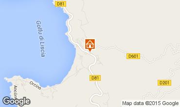 Mappa Calcatoggio Villa  7816
