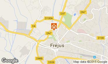 Mappa Fréjus Appartamento 85654