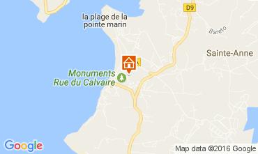 Mappa Sainte Anne (Martinique) Appartamento 67787