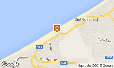 Mappa De Panne Appartamento 96357