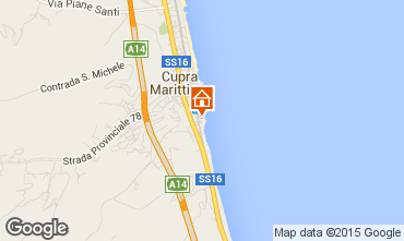 Mappa Cupra Marittima Appartamento 89360