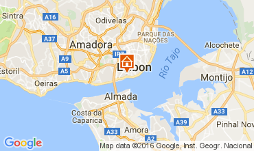Mappa Lisbona Appartamento 106237