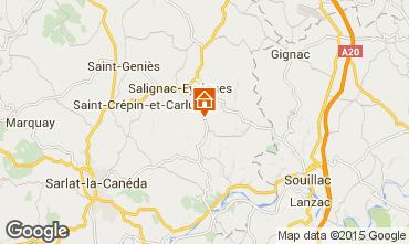 Mappa Salignac-Eyvignes Casa 83784