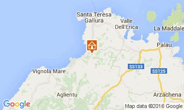 Mappa Santa Teresa di Gallura Appartamento 99030
