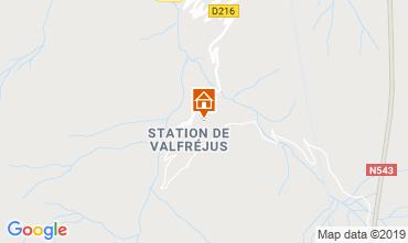 Mappa Valfréjus Appartamento 49989