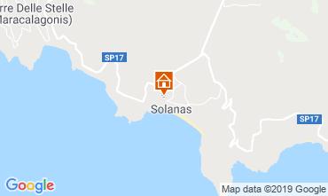 Mappa Solanas Villa  58936
