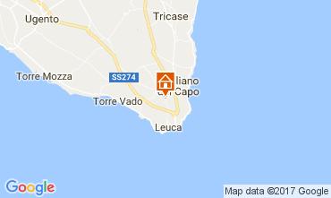Mappa Santa Maria di Leuca Appartamento 110250