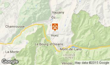 Mappa Alpe d'Huez Chalet 108