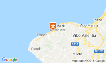 Mappa Tropea Villa  104796