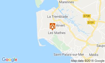 Mappa Les Mathes Casa mobile 117166