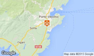 Mappa Porto Vecchio Villa  37508