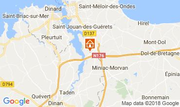 Mappa Saint Malo Casa 68641