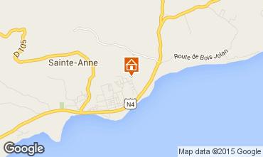 Mappa Sainte Anne (Guadalupa) Agriturismo 71841