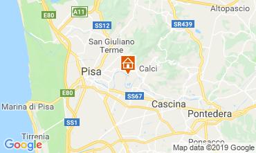 Mappa Pisa Casa 118175