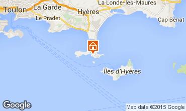 Mappa Hyères Casa 60892