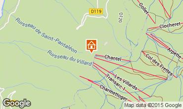 Mappa Les Arcs Appartamento 28016
