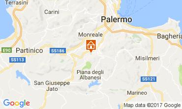 Mappa Palermo Villa  110302