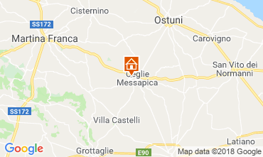 Mappa Ceglie Messapica Villa  117490