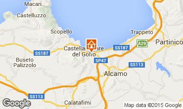 Mappa Castellammare del Golfo Villa  76275