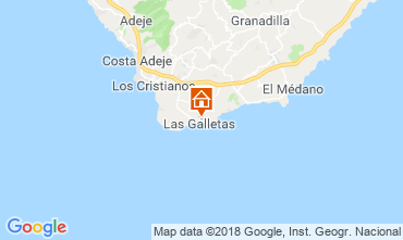 Mappa Costa del Silencio Monolocale 117562