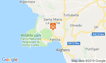 Mappa Alghero Appartamento 77894