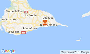Mappa Saint Francois Appartamento 113829