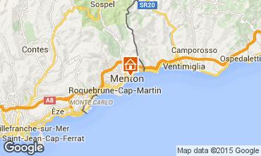 Mappa Menton (Mentone) Monolocale 26501