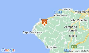 Mappa Tropea Appartamento 65034