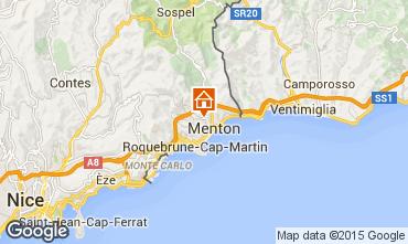 Mappa Menton (Mentone) Appartamento 96725