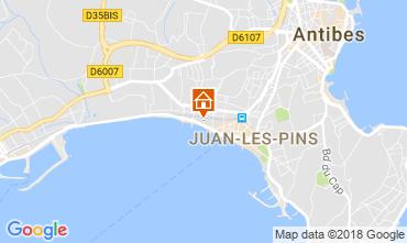 Mappa Juan les Pins Appartamento 10385