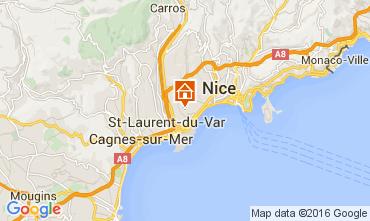 Mappa Nizza Appartamento 105916