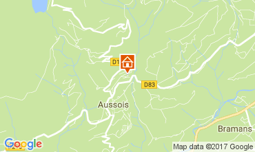 Mappa Aussois Appartamento 111664