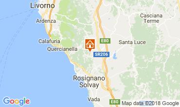 Mappa Castiglioncello Appartamento 114276