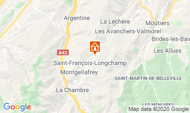 Mappa Saint François Longchamp Appartamento 94959