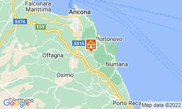 Mappa Sirolo Appartamento 111317
