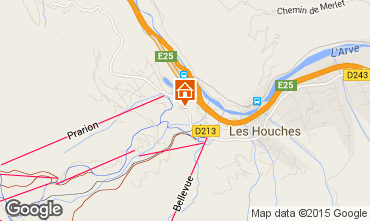Mappa Les Houches Monolocale 62468