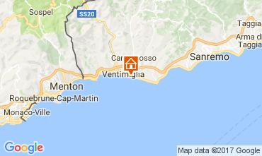Mappa Ventimiglia Bungalow 110570