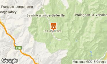 Mappa Les Menuires Appartamento 1753