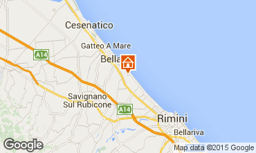 Mappa Bellaria Igea Marina Appartamento 31420