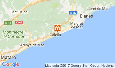 Mappa Calella de Mar Appartamento 111108