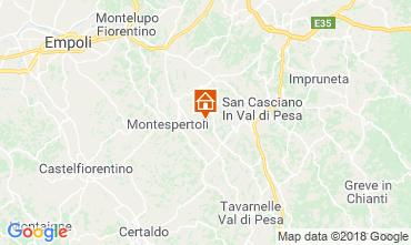 Mappa Montespertoli Bungalow 115969