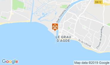 Mappa Agde Appartamento 102284
