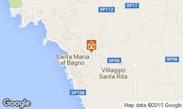 Mappa Santa Maria al Bagno Appartamento 78545